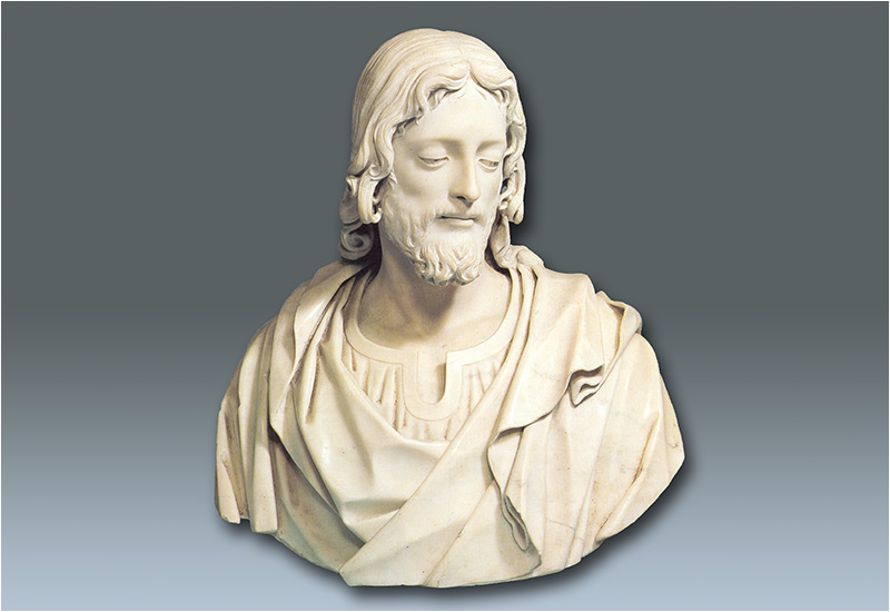 Giovanni Caccini - A marble bust of Christ