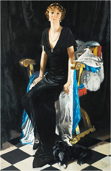 Portrait of Lady Idina Wallace by Sir William Orpen