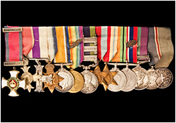 Series of well-documented WW1 Medals
