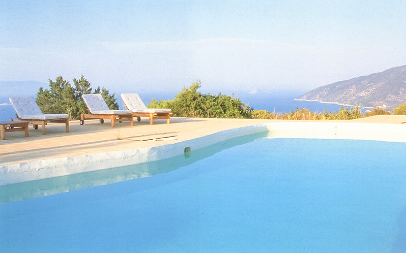 Aitos, Greece - swimming pool