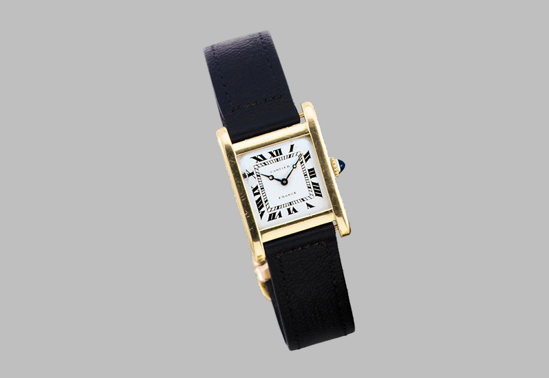 Cartier - Gold Wristwatch